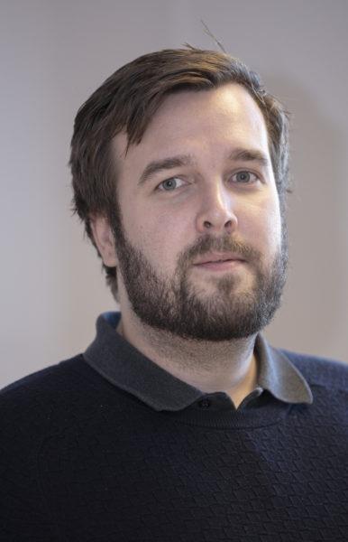 TEKNISK: Aksel Pettersen har ansvar for logistikk og tekniske spørsmål.
