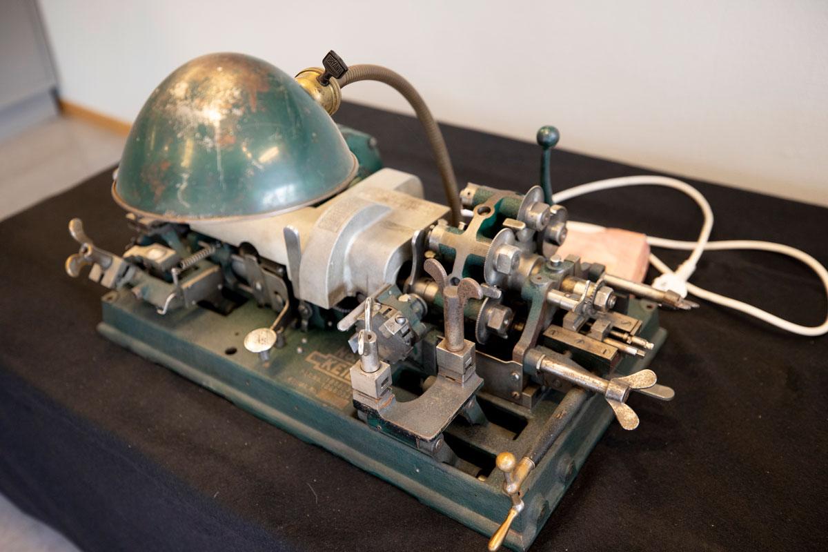 Bilde av nøkkelslipemaskin